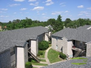 Picture of shingle roofing