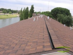Picture of shingle roof